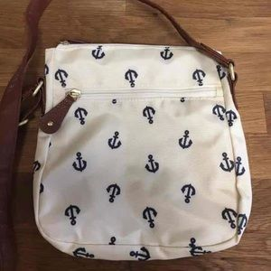 Anchor cross body bag